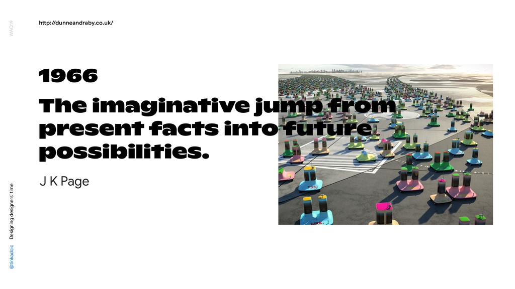 1966 The imaginative jump from present facts in...