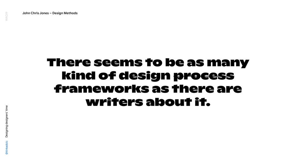 @tinkadoic Designing designers' time WAQ19 Ther...