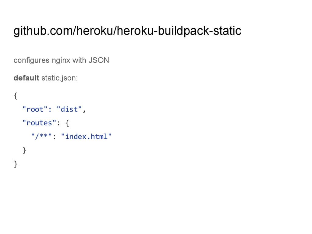 github.com/heroku/heroku-buildpack-static confi...