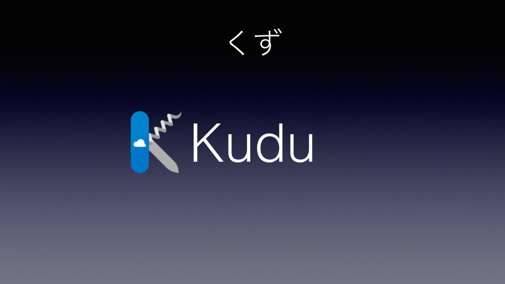 ͣ͘ Kudu