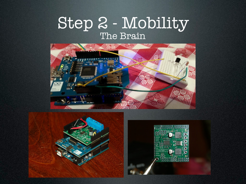 Step 2 - Mobility The Brain