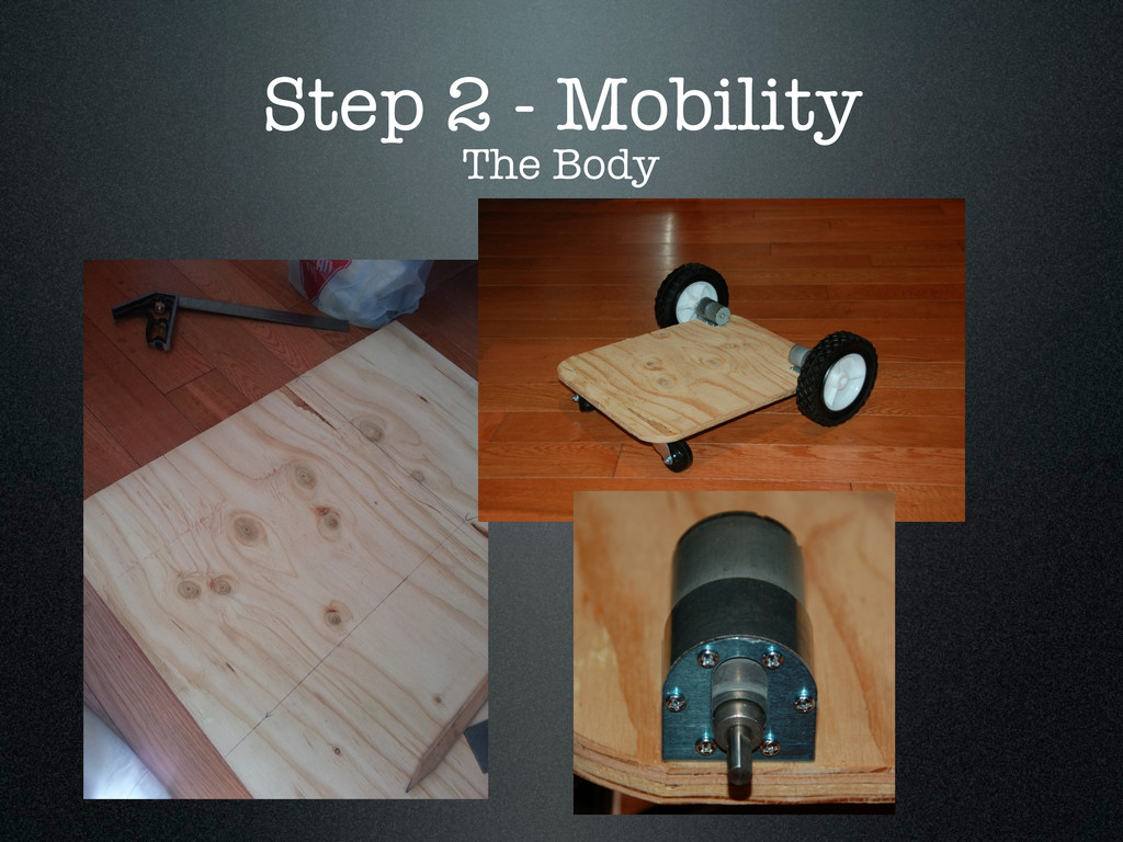 Step 2 - Mobility The Body