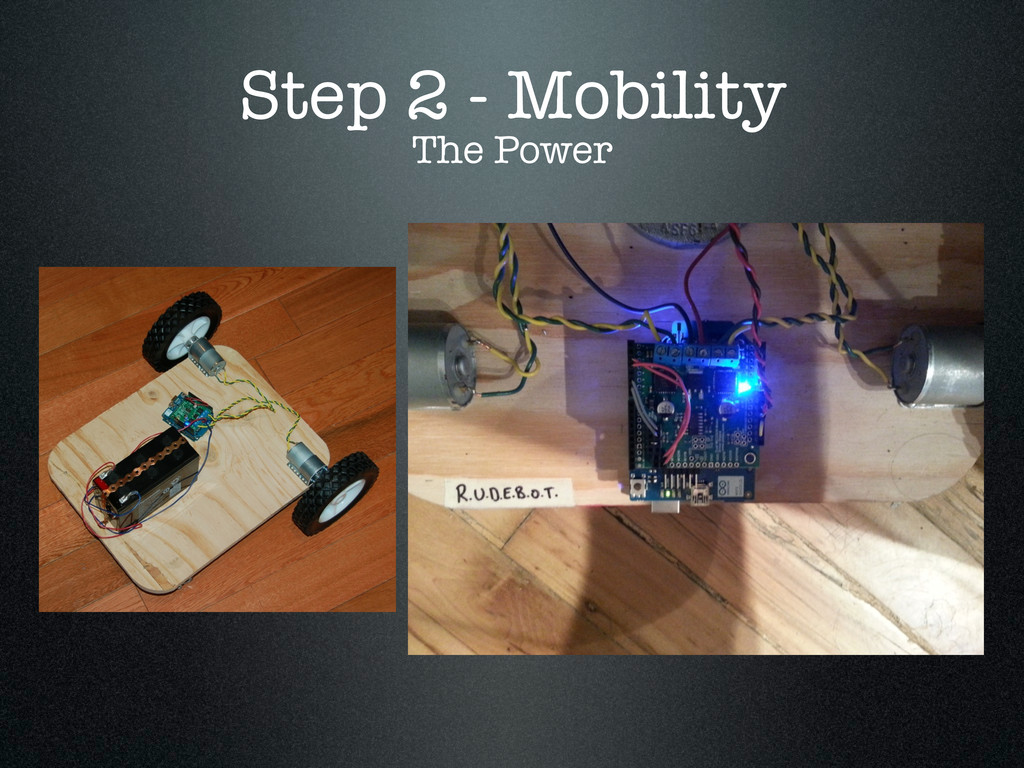 Step 2 - Mobility The Power