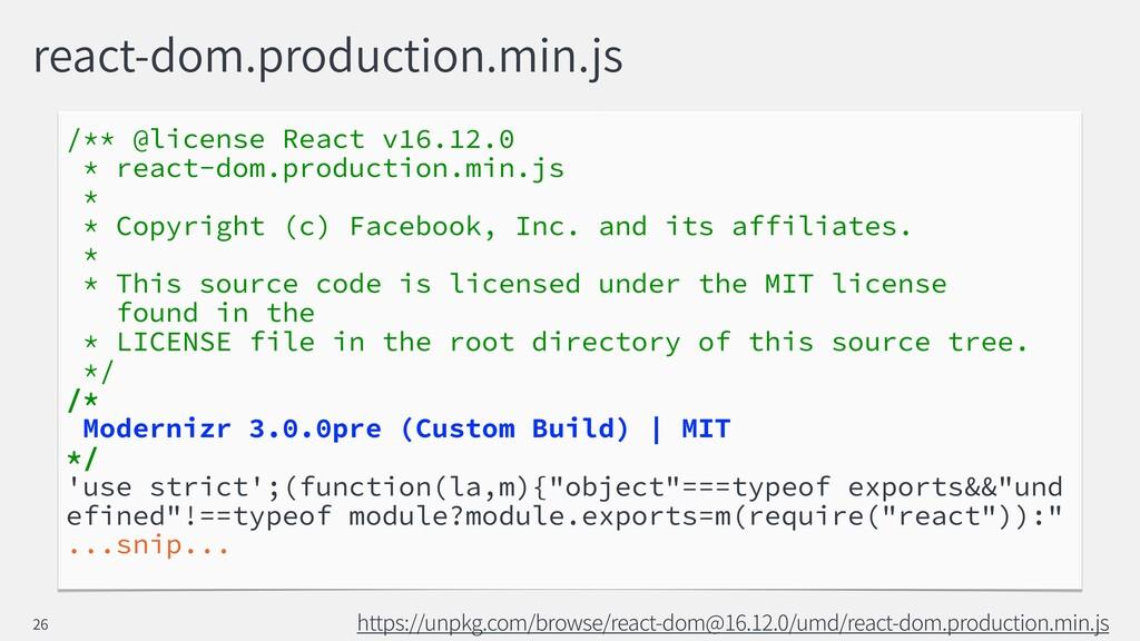 react-dom.production.min.js /** @license React ...