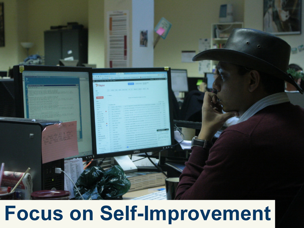 Focus on Self-Improvement