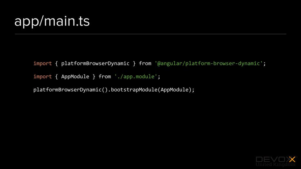 #DevoxxUK app/main.ts import { platformBrowserD...