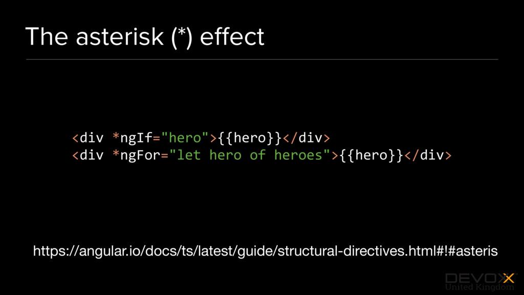 #DevoxxUK The asterisk (*) effect https://angula...