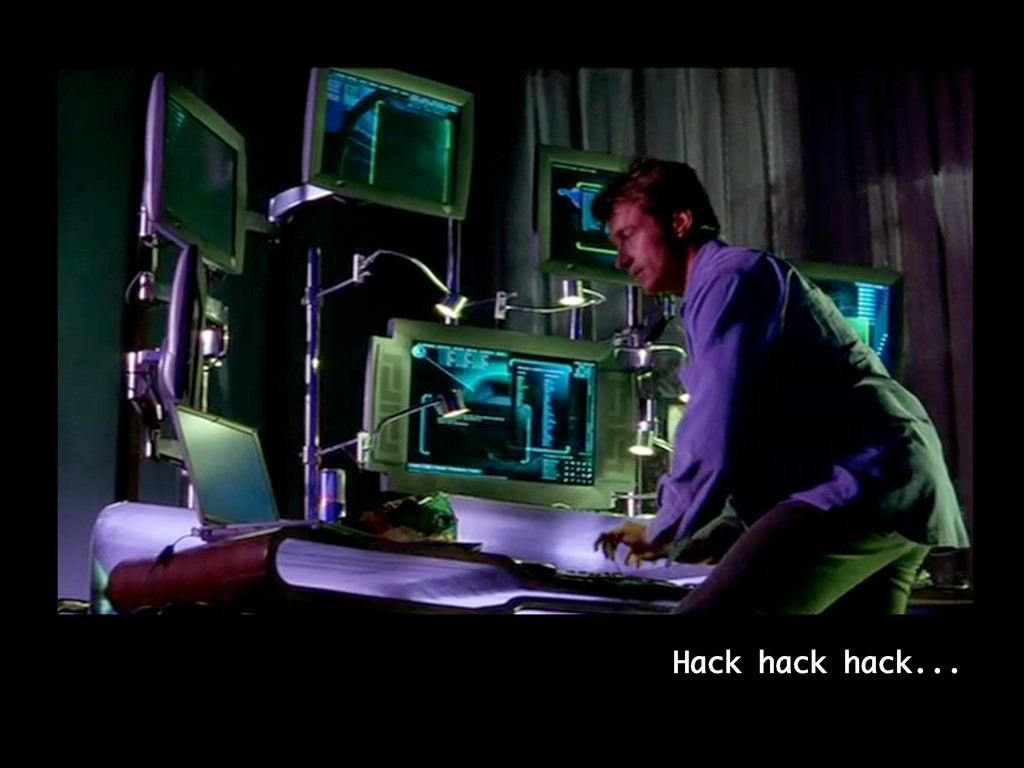 Hack hack hack...