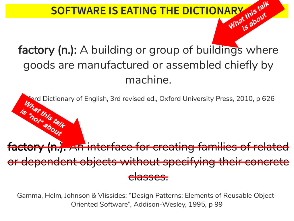 SOFTWARE IS EATING THE DICTIONARY Oxford Dictio...