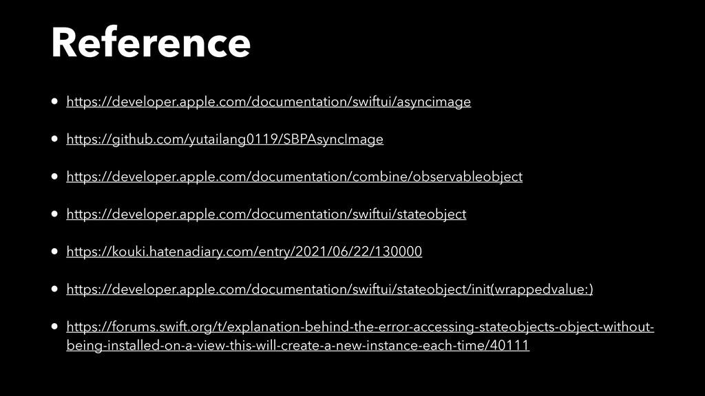Reference • https://developer.apple.com/documen...