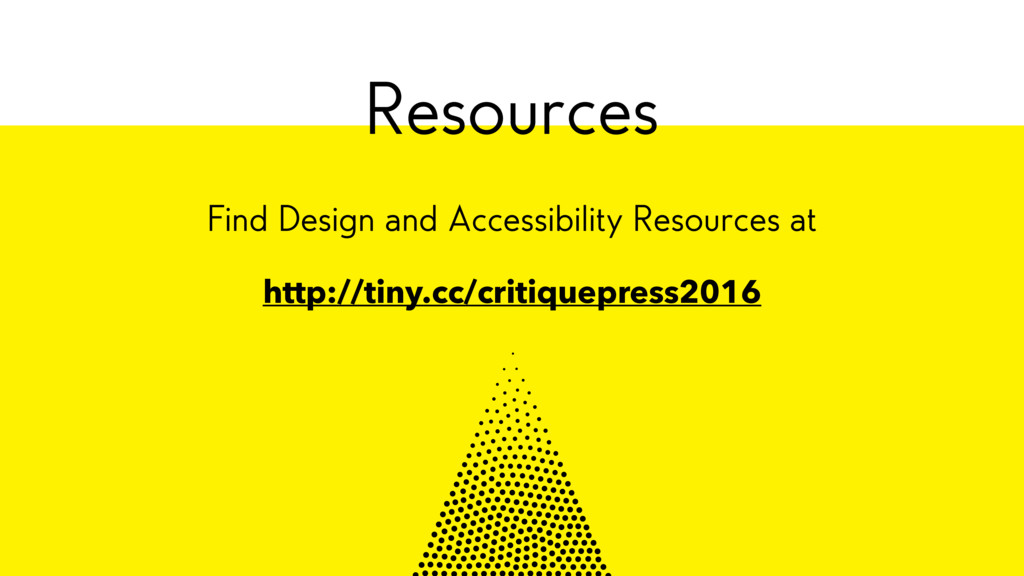 Find Design and Accessibility Resources at http...