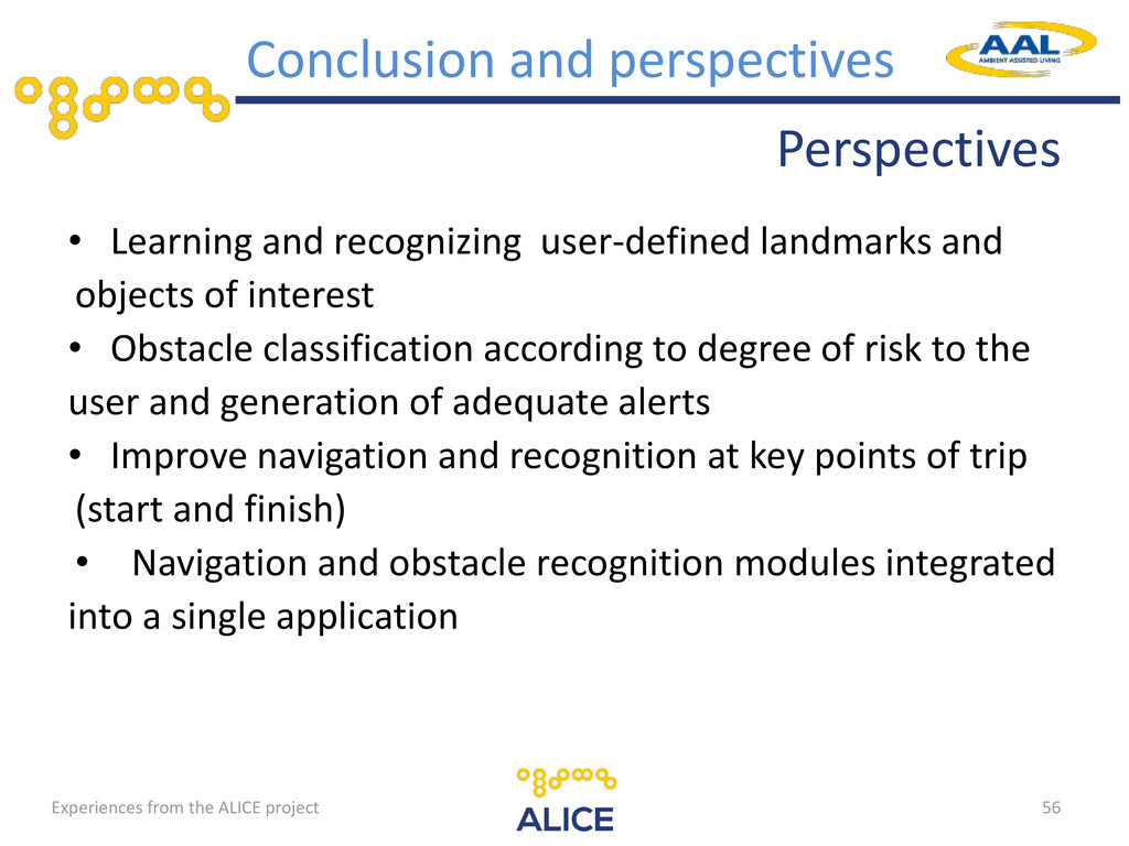 Perspectives • Learning and recognizing user-de...