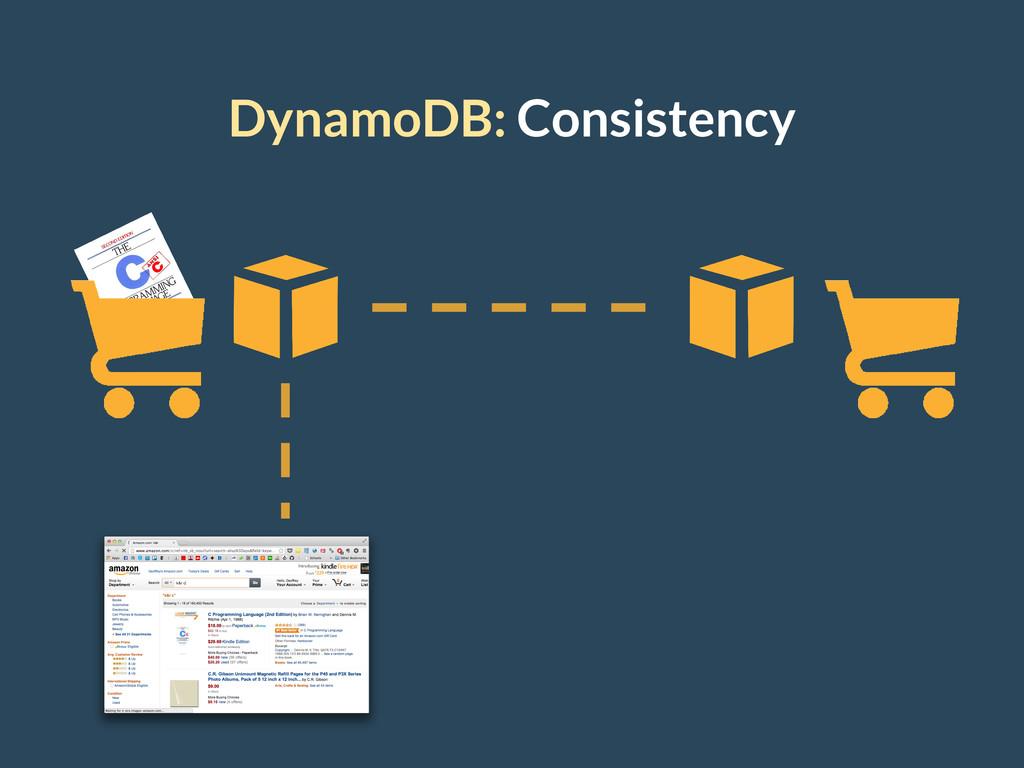 DynamoDB: Consistency