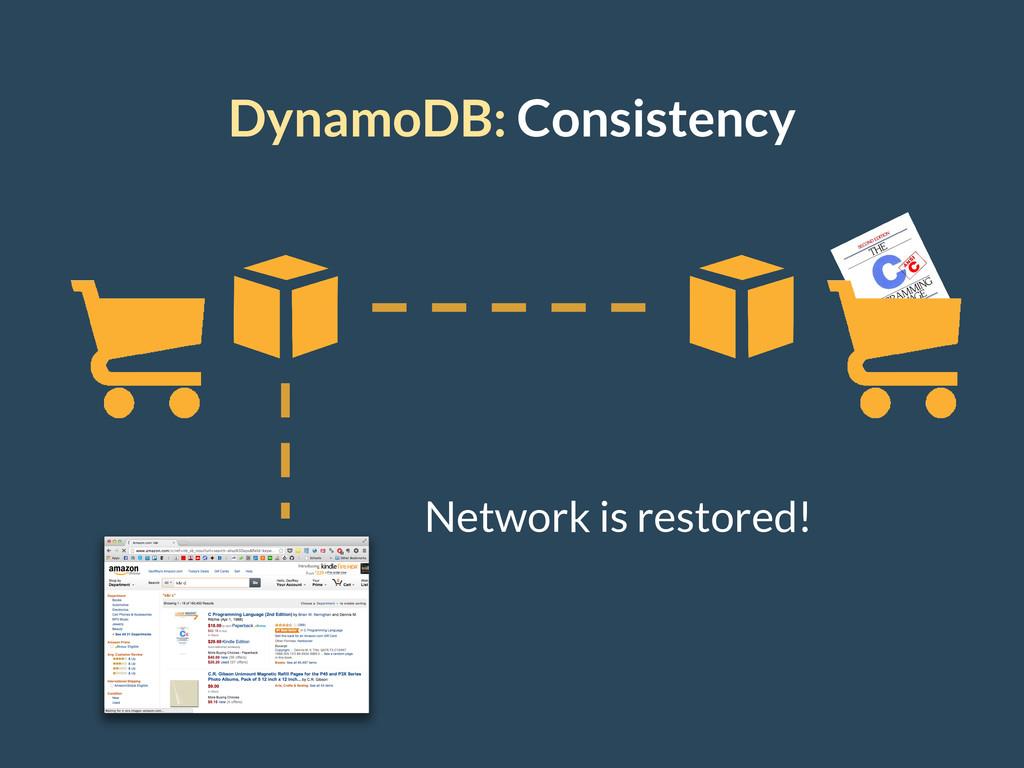 DynamoDB: Consistency Network is restored!