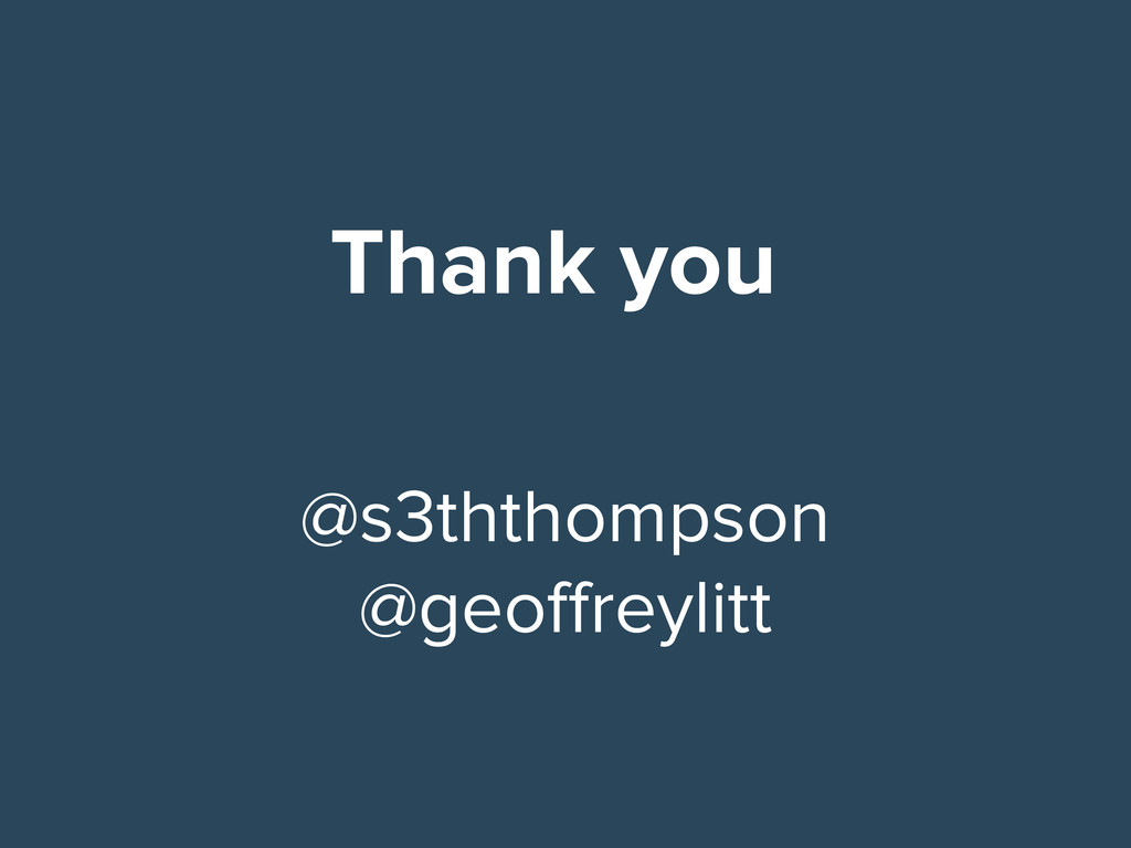 Thank you @s3ththompson @geoffreylitt