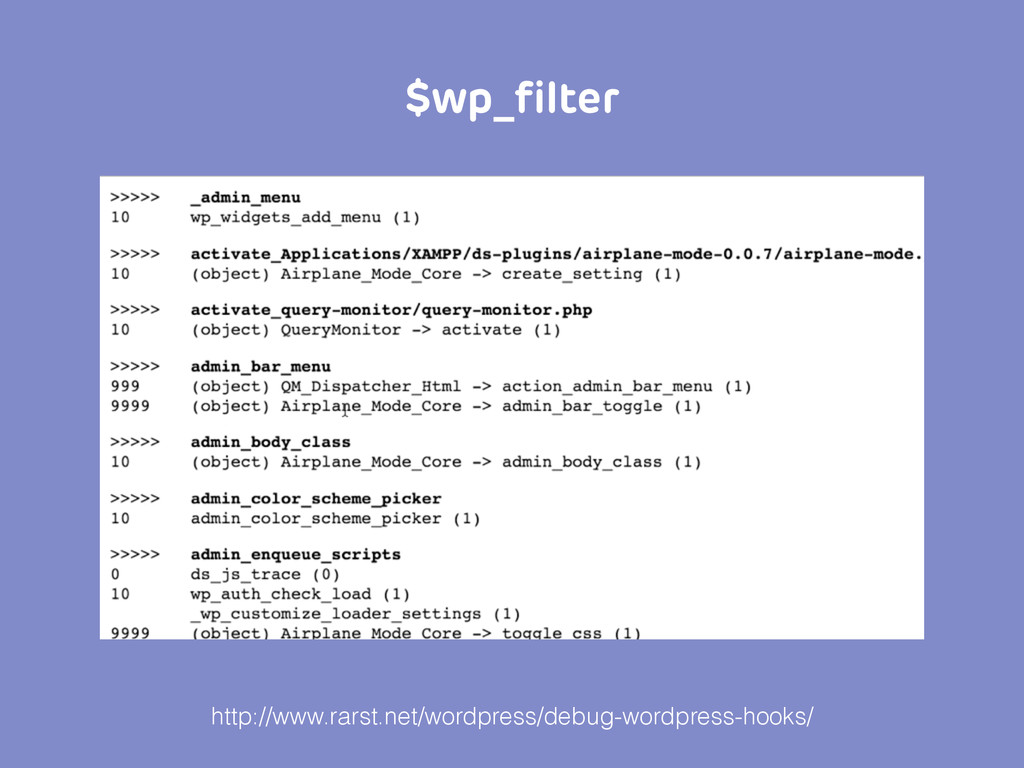 $wp_filter http://www.rarst.net/wordpress/debug-...