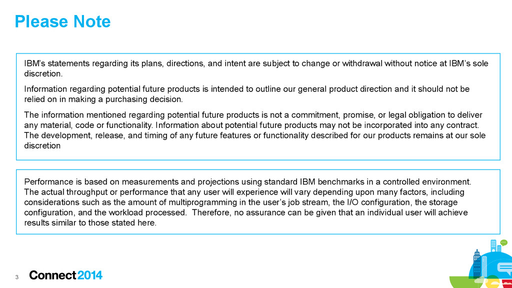3 3 IBM's statements regarding its plans, direc...