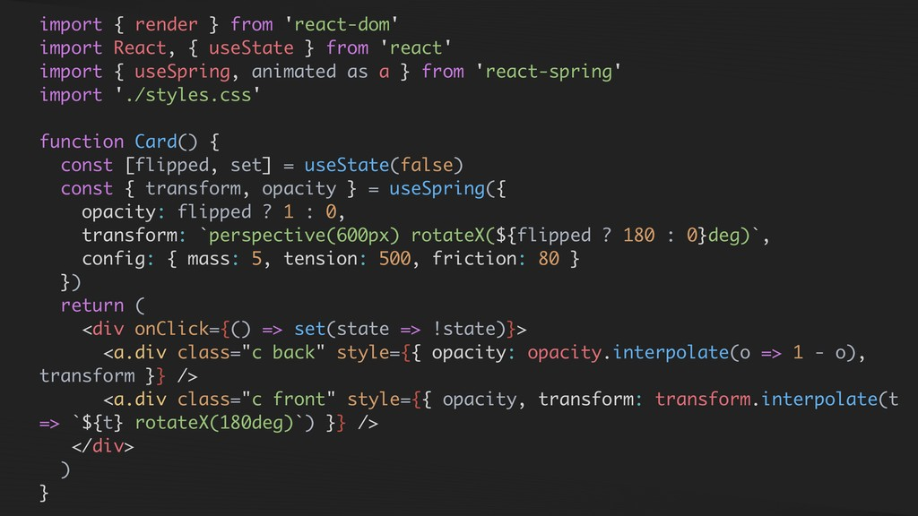 import { render } from 'react-dom' import React...