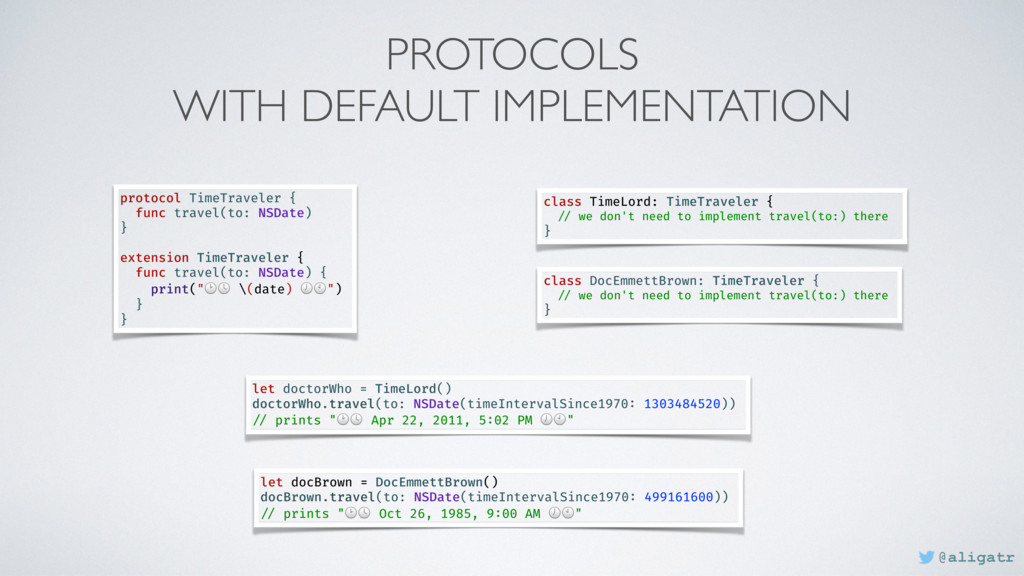 PROTOCOLS