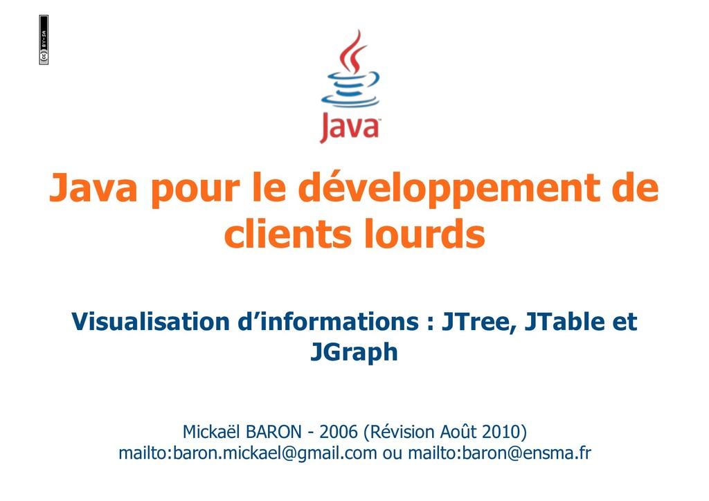 Java pour le développement de clients lourds Mi...