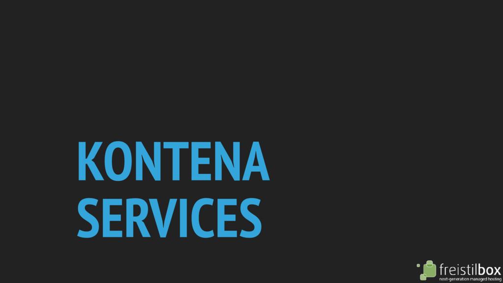 KONTENA SERVICES