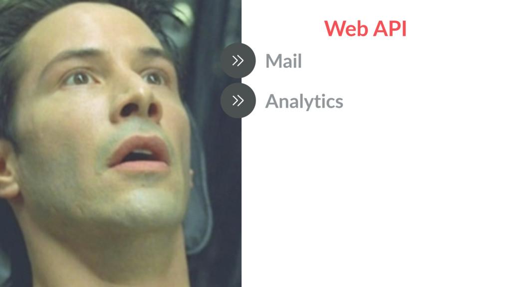 Web API Mail Analytics