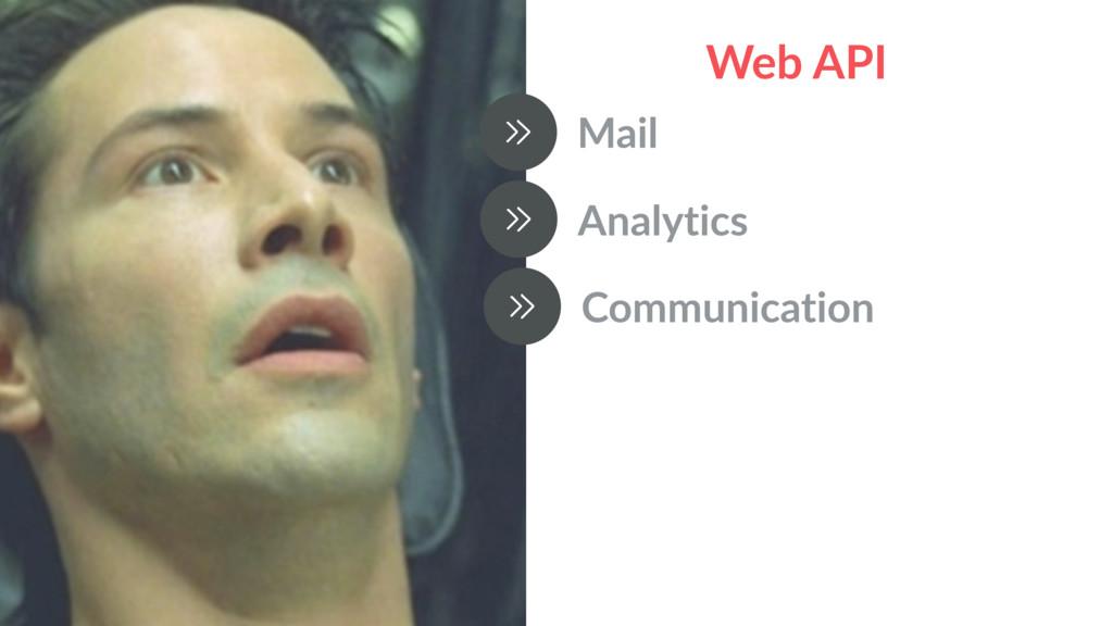 Web API Mail Analytics Communication