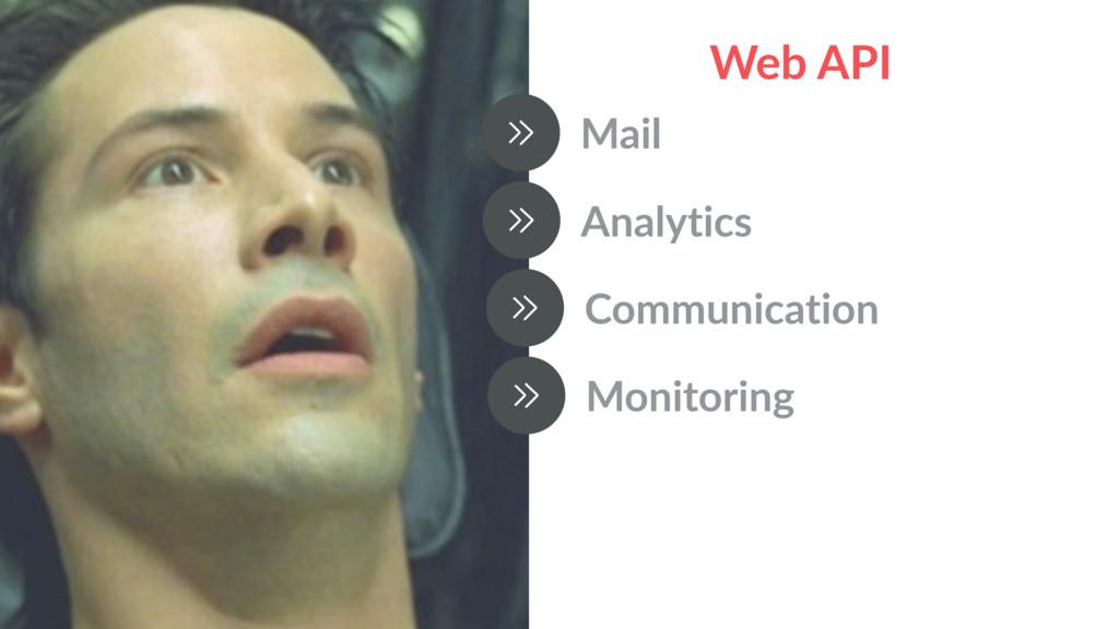 Web API Mail Analytics Communication Monitoring