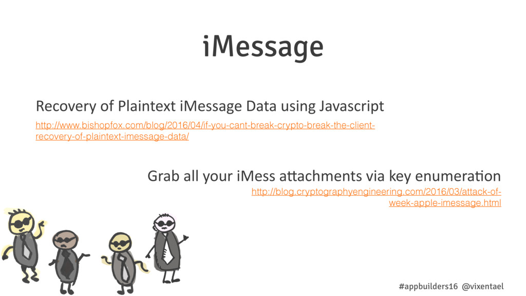 iMessage Recovery of Plaintext iMessage Data us...
