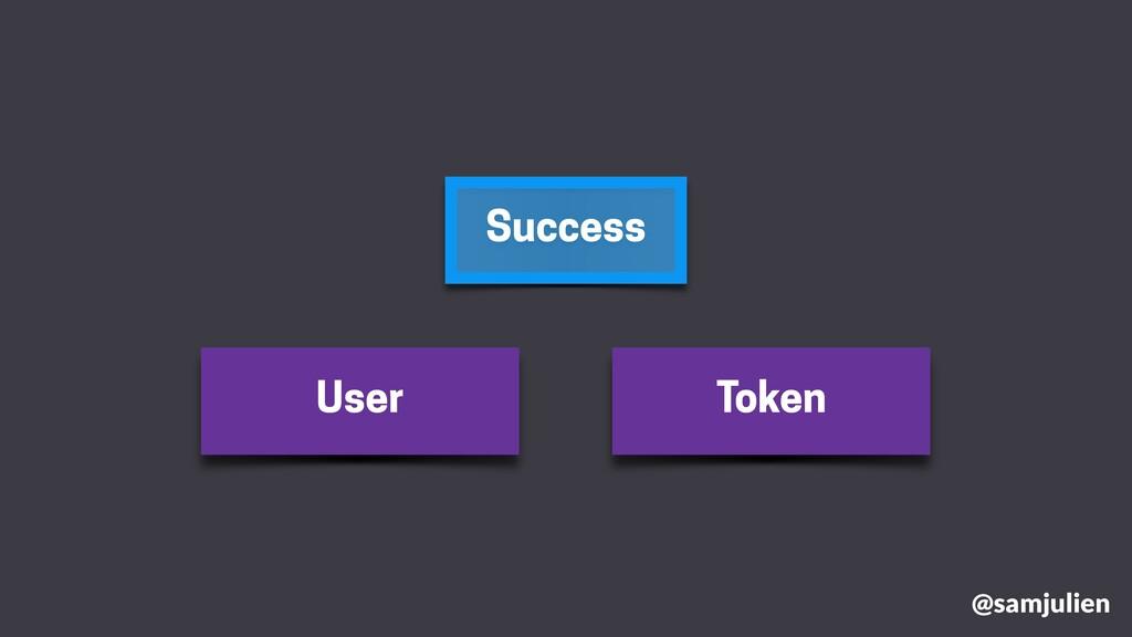 Success User Token @samjulien