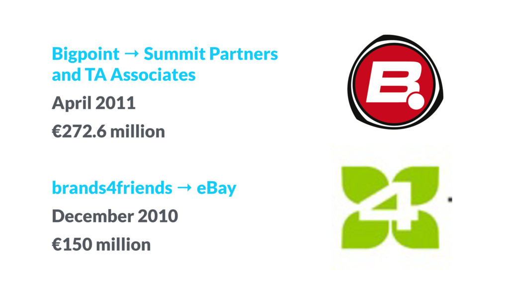 Bigpoint → Summit Partners 