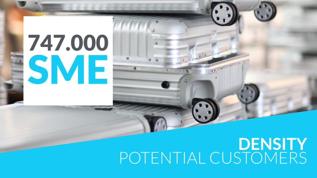 DENSITY POTENTIAL CUSTOMERS 747.000 