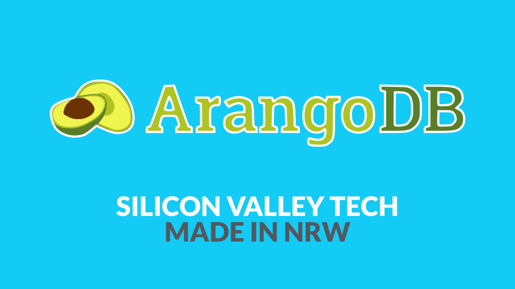 SILICON VALLEY TECH MADE IN NRW