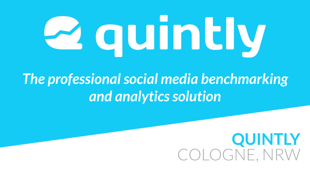 QUINTLY COLOGNE, NRW The professional social me...