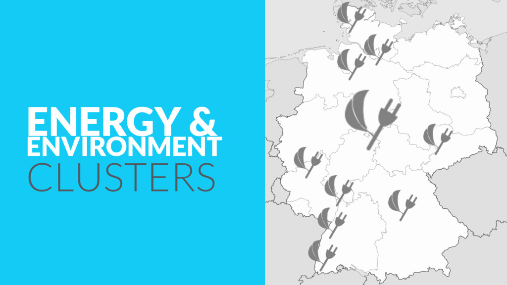 ENERGY & ENVIRONMENT CLUSTERS
