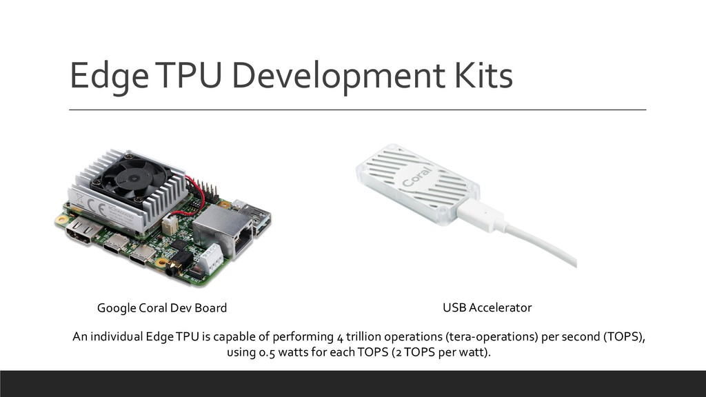 Edge TPU Development Kits Google Coral Dev Boar...