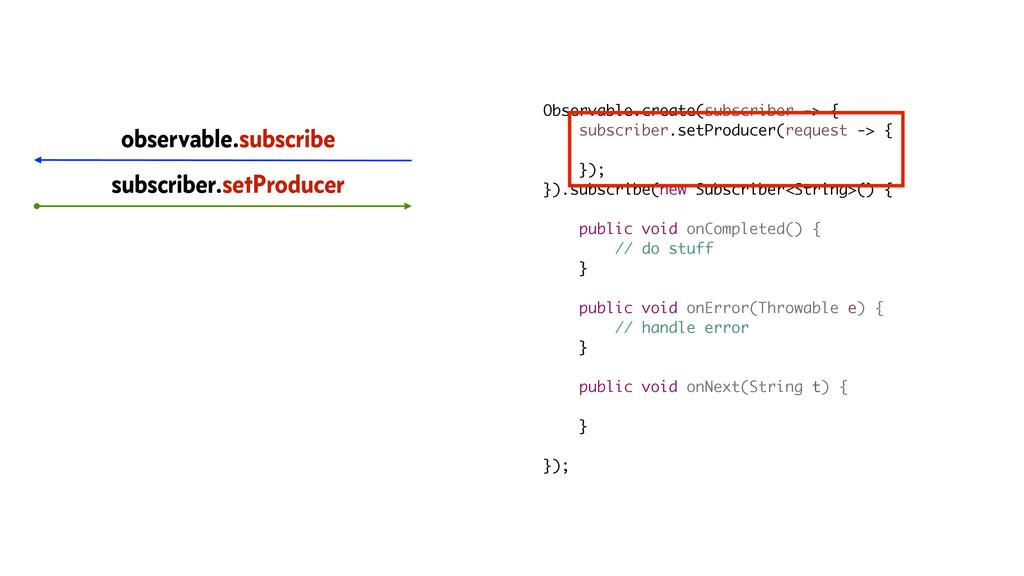 observable.subscribe subscriber.setProducer Obs...