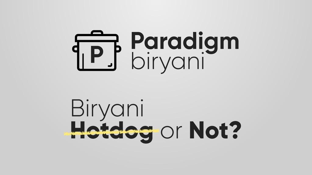 P Paradigm