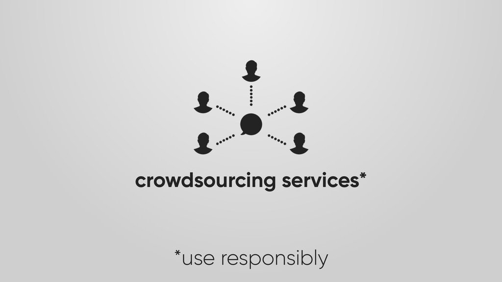crowdsourcing services*