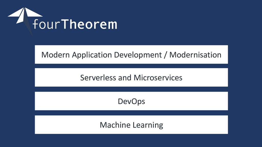 Modern Application Development / Modernisation ...