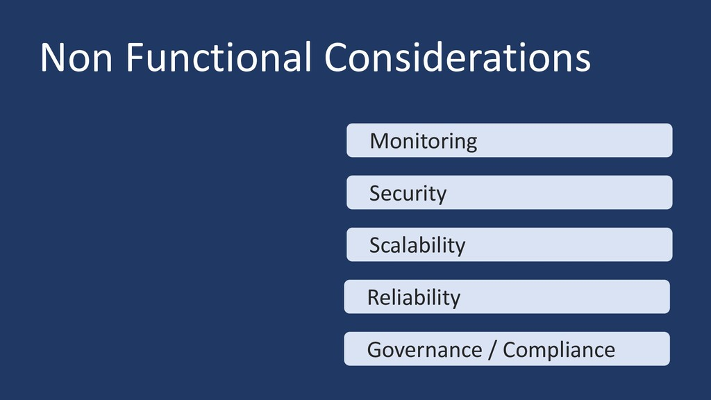 Non Functional Considerations Monitoring Securi...