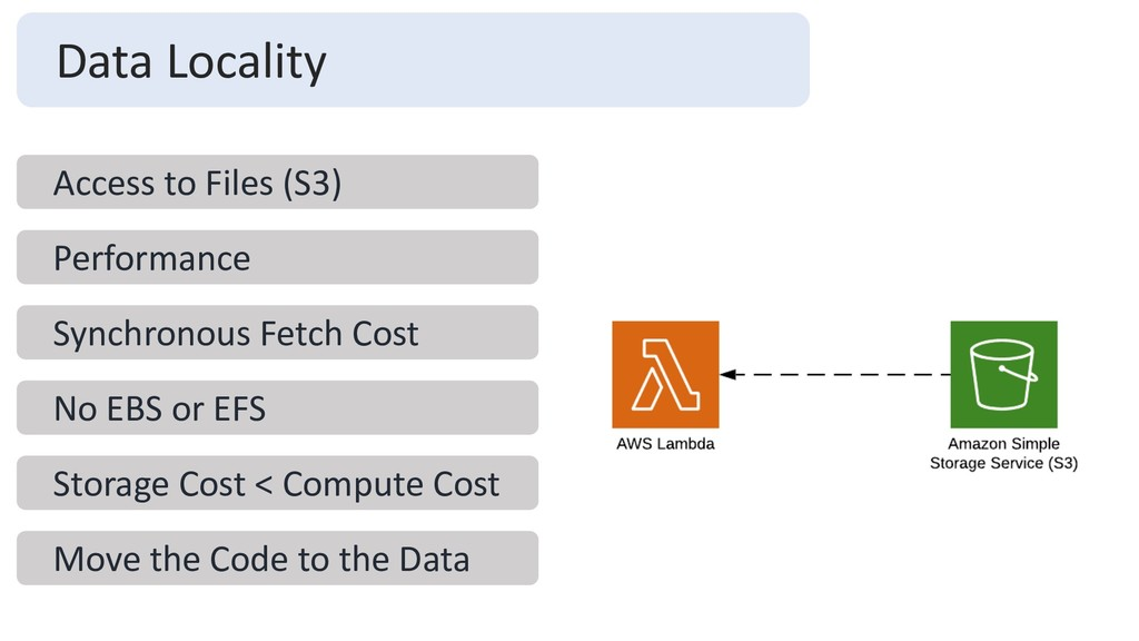 Data Locality Access to Files (S3) Performance ...