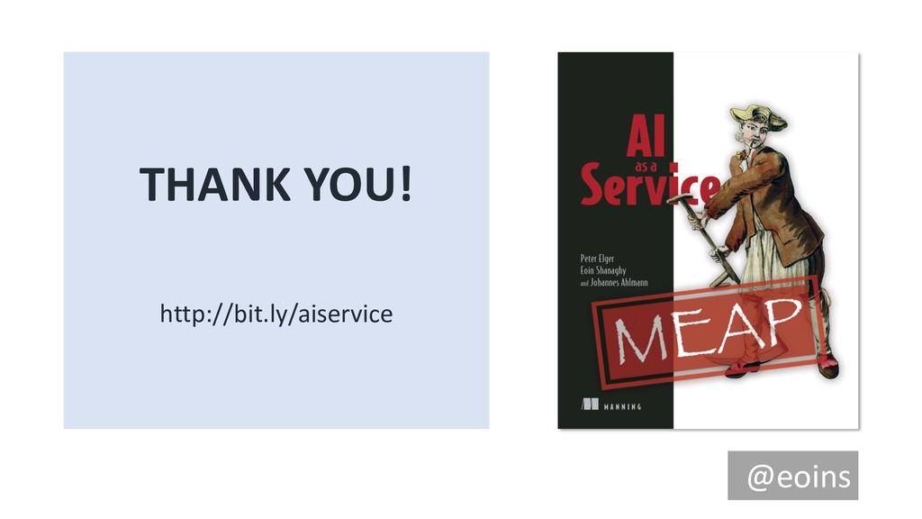 THANK YOU! http://bit.ly/aiservice @eoins