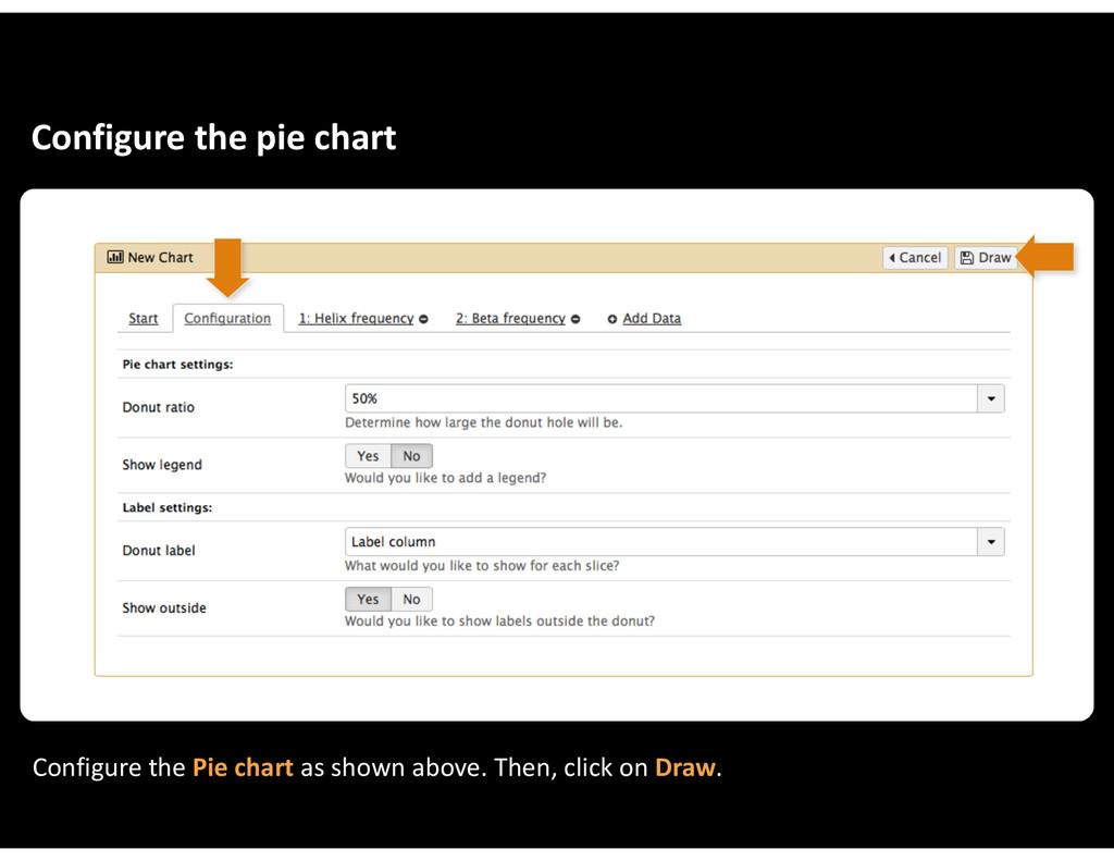 Configure&the&pie&chart Configure&the&Pie&chart...