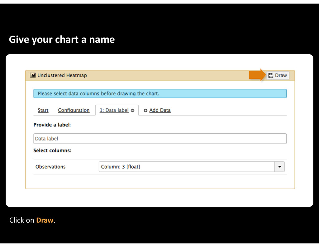 Give&your&chart&a&name Click&on&Draw.