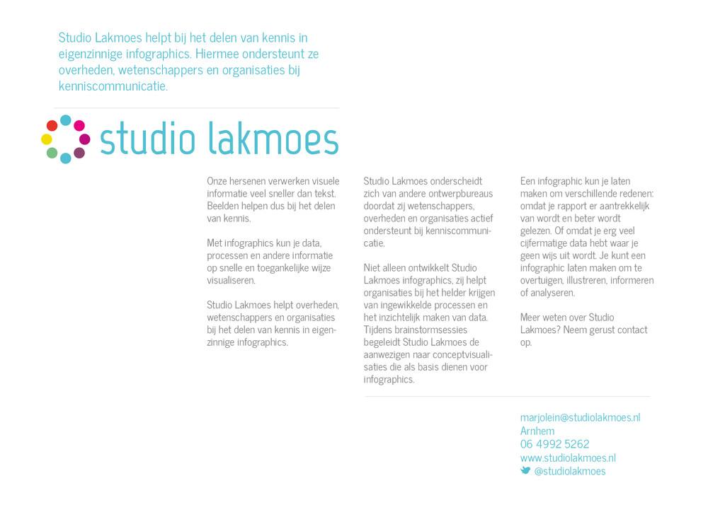 Studio Lakmoes onderscheidt zich van andere ont...