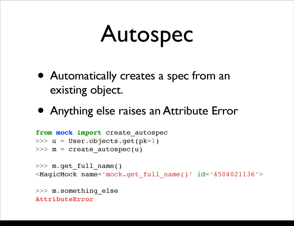 Autospec • Automatically creates a spec from an...