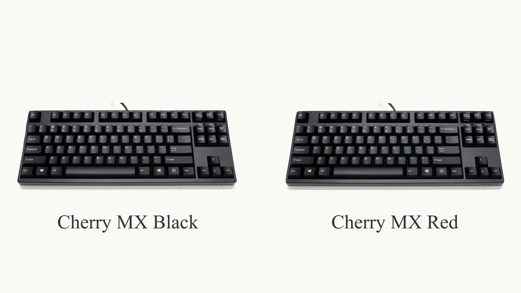 Cherry MX Black Cherry MX Red