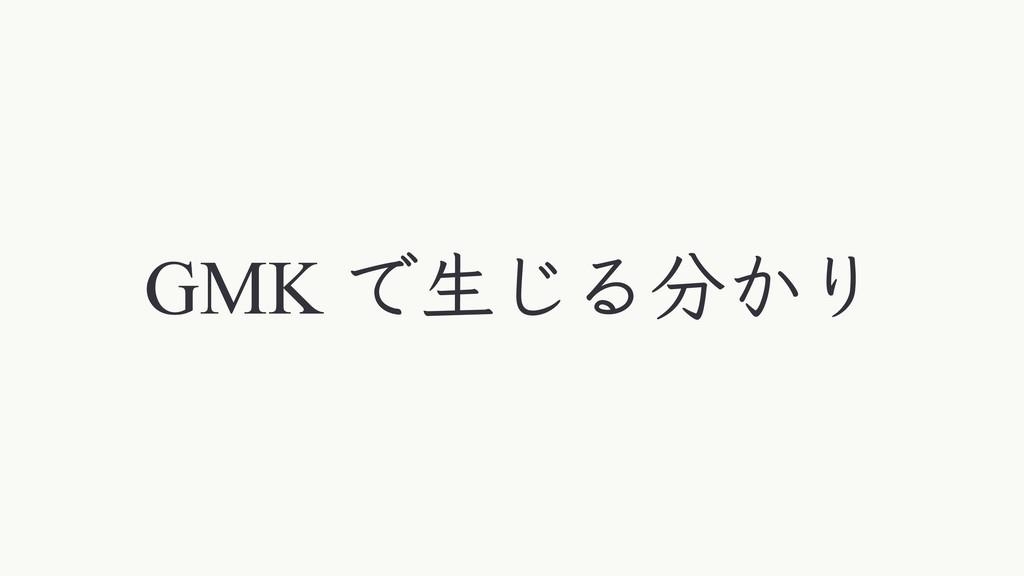 GMK Ͱੜ͡Δ͔Γ