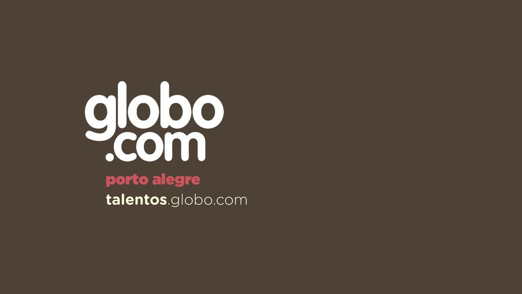 porto alegre talentos.globo.com